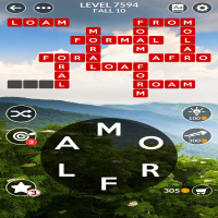 Wordscapes level 7594