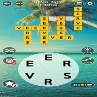 Wordscapes level 7612