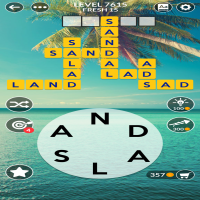 Wordscapes level 7615