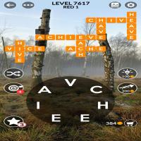 Wordscapes level 7617