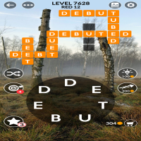 Wordscapes level 7628