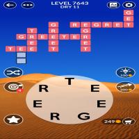 Wordscapes level 7643