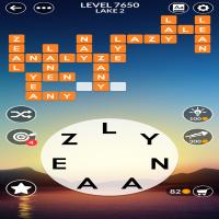 Wordscapes level 7650
