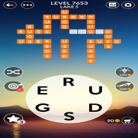 Wordscapes level 7653