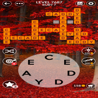 Wordscapes level 7687