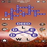 Wordscapes level 7707