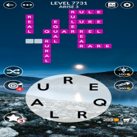 Wordscapes level 7731