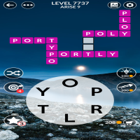 Wordscapes level 7737