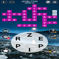 Wordscapes level 7744