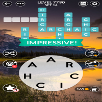 Wordscapes level 7790