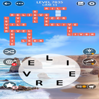 Wordscapes level 7835
