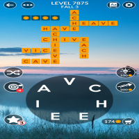 Wordscapes level 7875