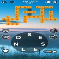 Wordscapes level 7876