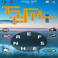 Wordscapes level 7883