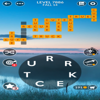 Wordscapes level 7886