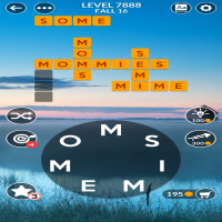Wordscapes level 7888