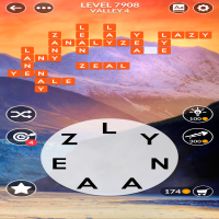 Wordscapes level 7908