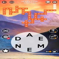 Wordscapes level 7916