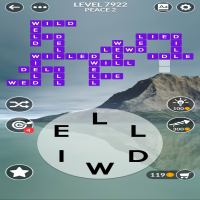 Wordscapes level 7922