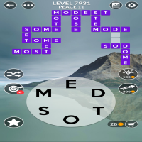 Wordscapes level 7931