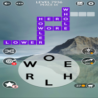 Wordscapes level 7936