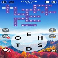 Wordscapes level 7960