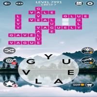 Wordscapes level 7991