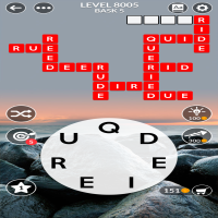 Wordscapes level 8005