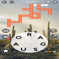 Wordscapes level 8083
