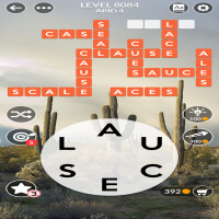 Wordscapes level 8084