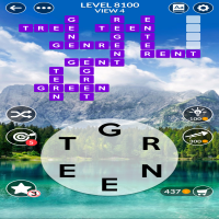 Wordscapes level 8100