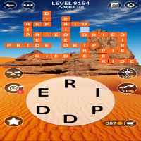Wordscapes level 8154