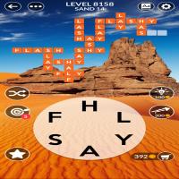 Wordscapes level 8158
