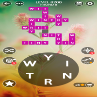 Wordscapes level 8200