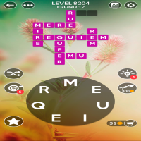 Wordscapes level 8204