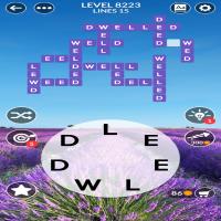 Wordscapes level 8223