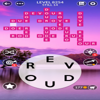 Wordscapes level 8254