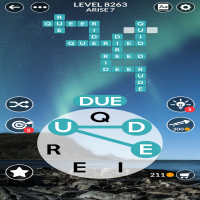 Wordscapes level 8263