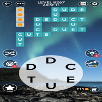 Wordscapes level 8267