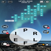 Wordscapes level 8268