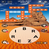 Wordscapes level 8287