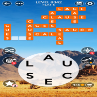 Wordscapes level 8342