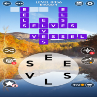 Wordscapes level 8356