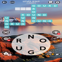 Wordscapes level 8369