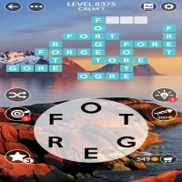 Wordscapes level 8375