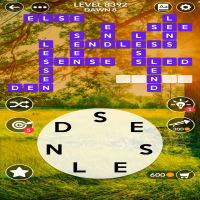Wordscapes level 8392