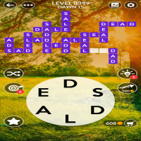Wordscapes level 8399