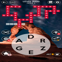 Wordscapes level 8420