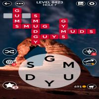 Wordscapes level 8423