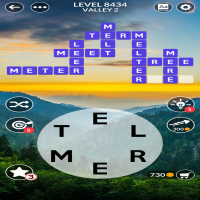 Wordscapes level 8434